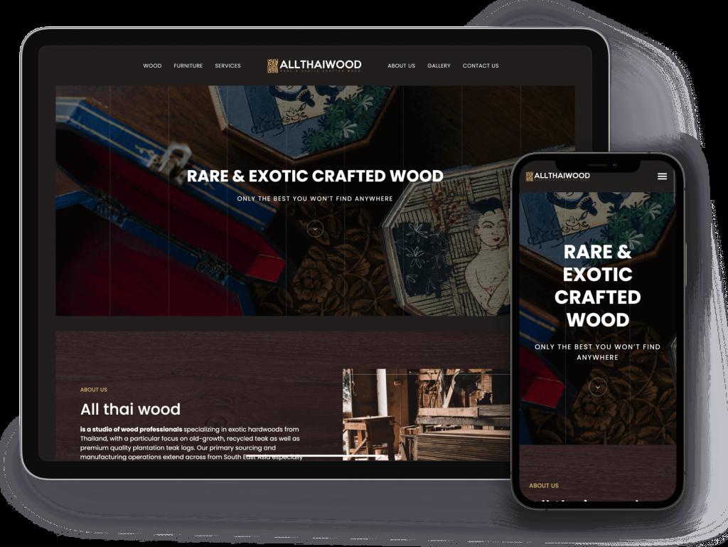 รับทำเว็บไซต์ โดย Designil
